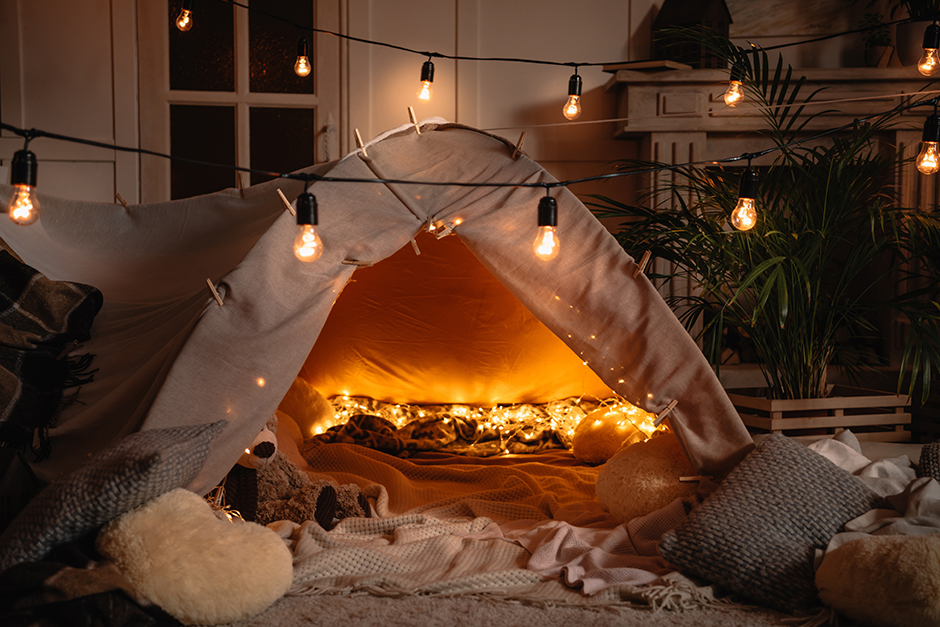 camping de salon