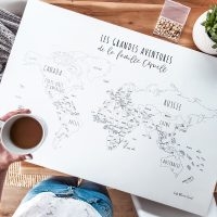 DIY Travel Décor: How to Make a Pinboard World Map