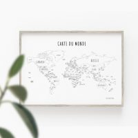 12 Ways to Draw a World Map