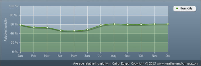 EGYPT average-relative-humidity-egypt-cairo