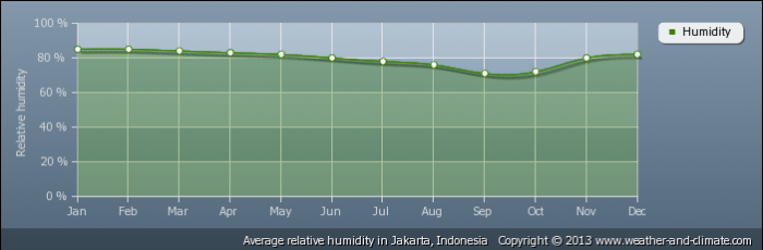 INDONESIA average-relative-humidity-indonesia-jakarta