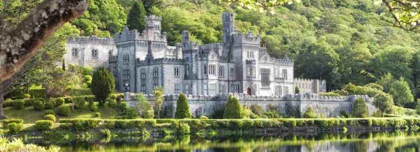 Ireland_Kylemore Abbey in Connemara, County Galway