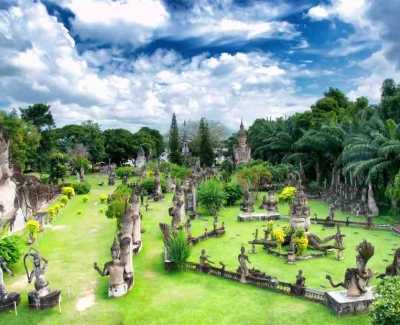 Laos_Buddha Park, Vientiane